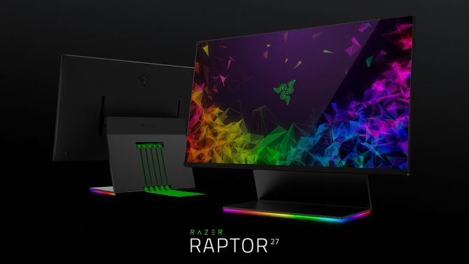 CES 2019 : Razer présente le Raptor, son premier moniteur pour le jeu