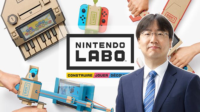 Nintendo Labo : Shuntaro Furukawa parle des ventes et du futur de son concept en carton