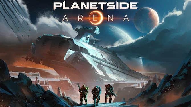 PlanetSide Arena vous présente l'une de ses maps avant la bêta
