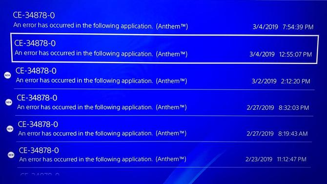 """Anthem : Plantages, consoles """"plantées"""" et remboursements sur PS4 [MAJ]"""