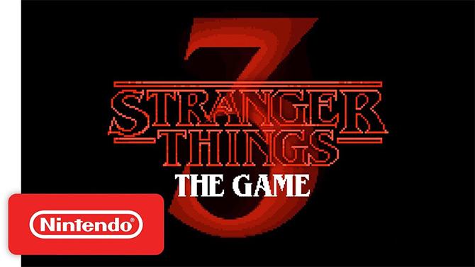 Stranger Things 3 The Game daté sur Nintendo Switch avec un nouveau trailer