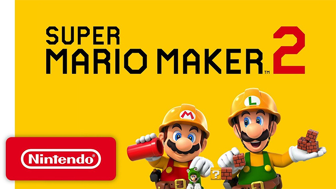 Super Mario Maker 2 dat, limited edition and bonus for pre-order