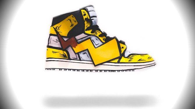 Le réalisateur du film Metal Gear a designé ces Nike Air Jordan Pikachu