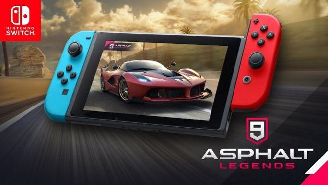 Asphalt 9 Legends arrivera cet été sur Switch, du jeu en ligne gratuit