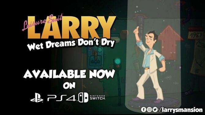 Leisure Suit Larry Wet Dreams Don't Dry jouera les chauds lapins sur PS4 et Switch