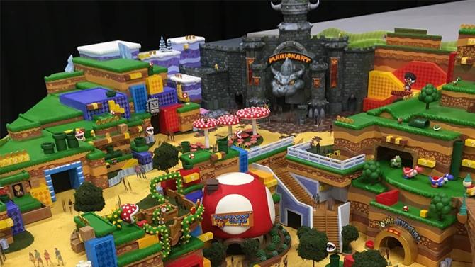 Super Nintendo World : Des illustrations pour les attractions Mario Kart, Zelda et Donkey Kong