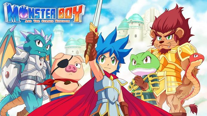 Nintendo Switch Lite : Monster Boy tease une nouvelle fonctionnalité