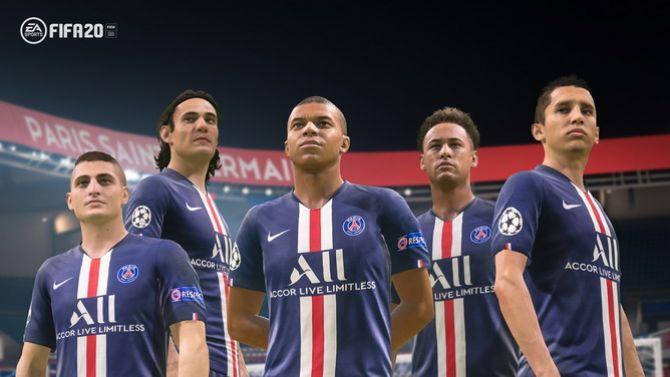 FIFA 20 : L'action d'EA dévisse après l'annonce de la Juventus exclusive à PES 2020