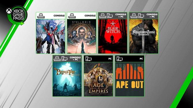 Xbox Game Pass : Les premiers jeux ajoutés en août 2019 annoncés