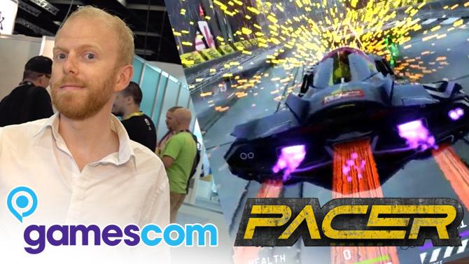 Gamescom 2019 : On a joué à Pacer, jeu de course dans le sillage de Wipeout
