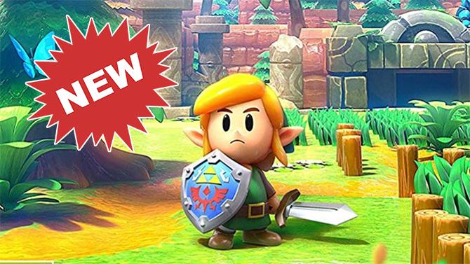 Link's Awakening Switch : Nintendo dévoile le nouveau look de certains personnages