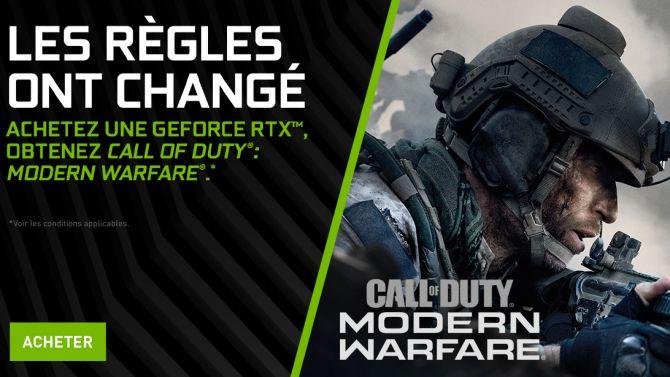 NVIDIA : Arrivée des drivers GameReady pour Call of Duty, Gears 5, Borderlands 3...