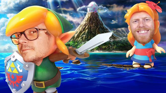 Zelda Link's Awakening Switch se remontre en chanson