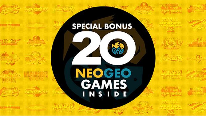 SNK dévoile les premiers détails de l'Arcade Stick Pro, avec 20 jeux de versus fighting intégrés