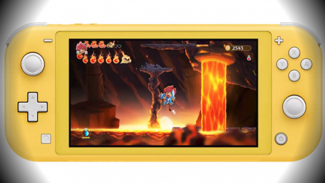 Monster Boy : La dernière mise à jour met de la couleur dans la Nintendo Switch