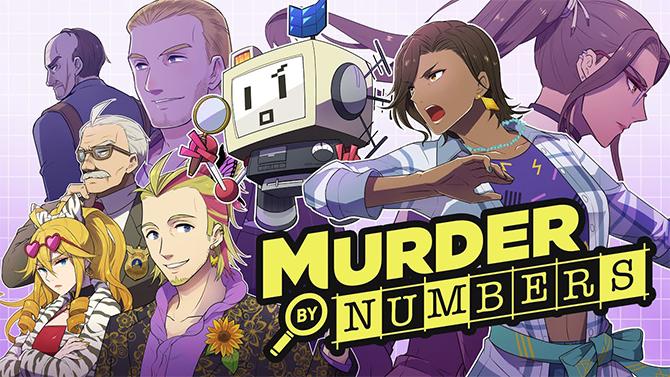 Murder by Numbers : Le nouveau jeu du créateur d'Hatoful Boyfriend entre Picross et visual novel