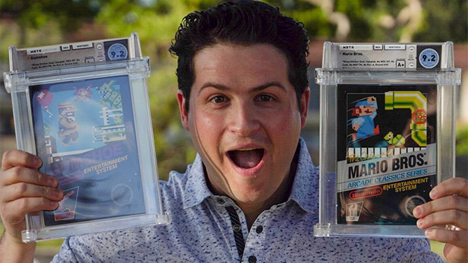 Un Super Mario Bros. NES neuf acheté à un prix RECORD