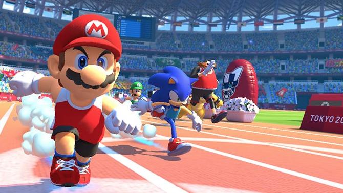 Nintendo Switch Une Démo Européenne Pour Mario Sonic Aux