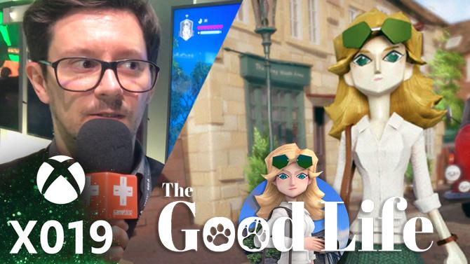 X019 : Plume a essayé The Good Life, un jeu qui a du chien ?