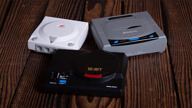 SEGA transforme la Mega Drive, la Saturn et la Dreamcast en... sels de bain, les images