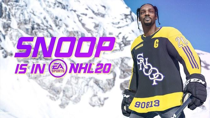 NHL 20 : Snoop Dogg arrive aux commentaires sans nous enfumer