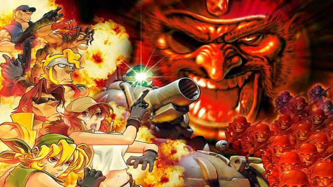 Neo Geo Arcade Stick Pro : Metal Slug 1 et 2 se téléchargent gratuitement, voici comment