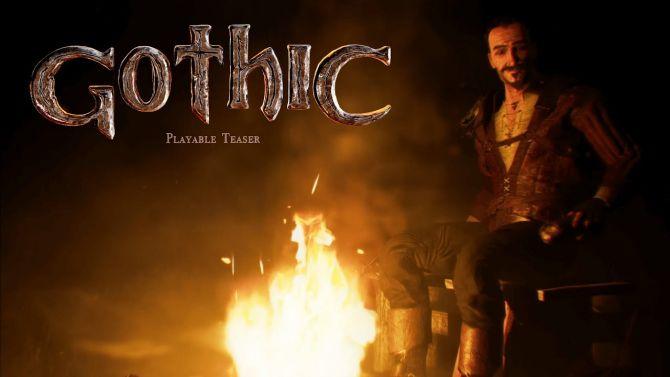 Gothic présente une démo jouable de son jeu sous Unreal Engine 4