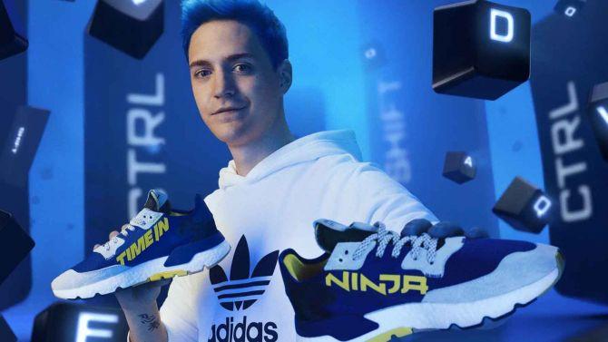 Les sneakers Adidas de Ninja se révèlent, en vente à la fin