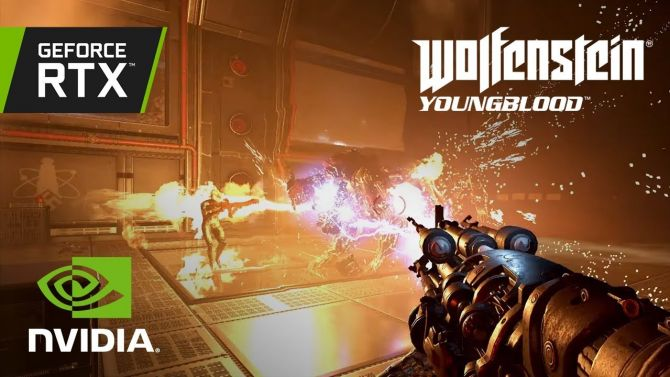 Wolfenstein Youngblood active son RTX et son Nvidia DLSS, les vidéos