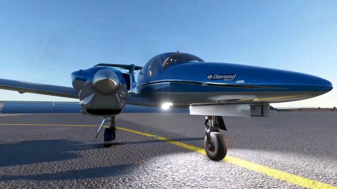 Flight Simulator nous emmène dans le cockpit en vidéo
