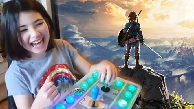 Nintendo Switch : Il bidouille l'Adaptive Controller Xbox, sa fille peut jouer à Zelda Breath of the Wild