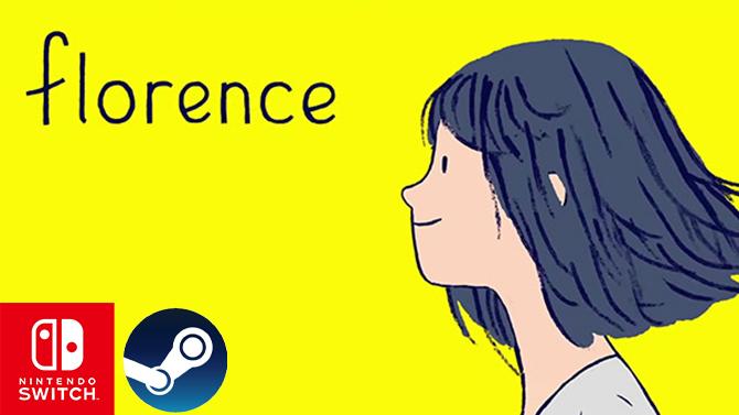 Florence trouve sa date de sortie amoureuse sur Switch et PC