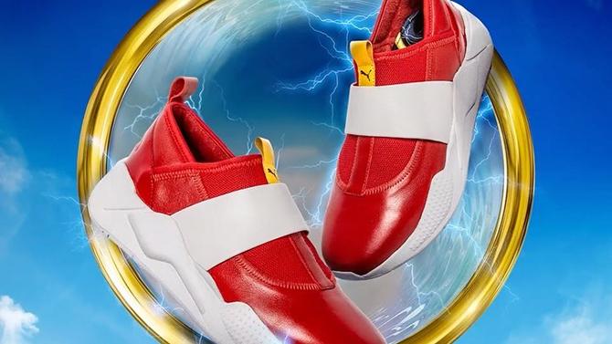 Puma recrée les chaussures de Sonic mais il n'y en aura