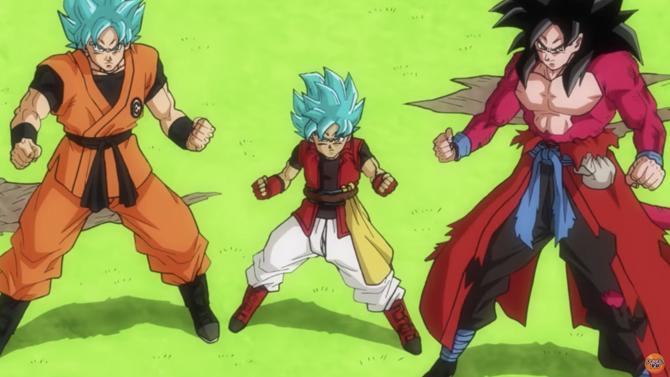 Goku SSGSS et Goku SSJ4 face à Beerus dans le nouveau trailer de Super Dragon Ball Heroes