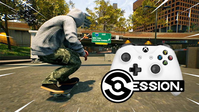 Session : Le jeu de skate s'offre une nouvelle maniabilité et parlera bientôt de la version Xbox One