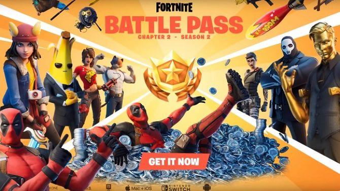 Fortnite Saison 2 Chapitre 2 : Espionnage, Deadpool arrive, le Battle Pass se dévoile en vidéo