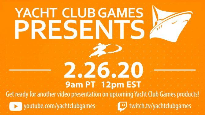Yacht Club (Shovel Knight) parlera avenir dans un nouveau livestream la semaine prochaine