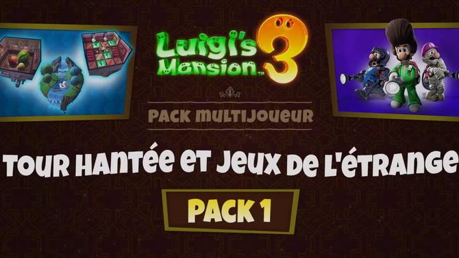 Luigi's Mansion 3 : Le premier DLC et la mise à jour 1.3.0 sont arrivés