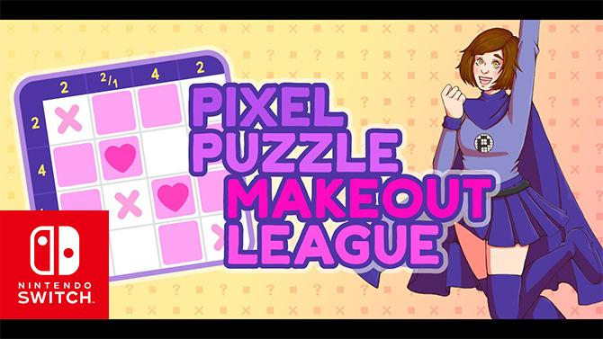 Pixel Puzzle Makeout League : Le mélange entre drague et Picross sortira aussi sur Switch
