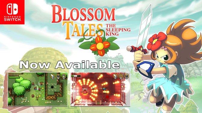 Blossom Tales : Le Zelda-like en 2D s'offre une démo surprise sur l'eShop