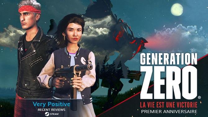 CONCOURS : Generation Zero fête son anniversaire avec du nouveau contenu et 5 jeux PC Steam à gagner