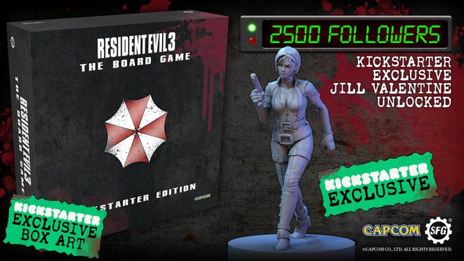 Resident Evil 3 : Un jeu de plateau passera par Kickstarter à la fin du mois