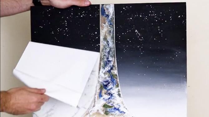 L'image du jour : Une oeuvre d'art Halo de toute beauté
