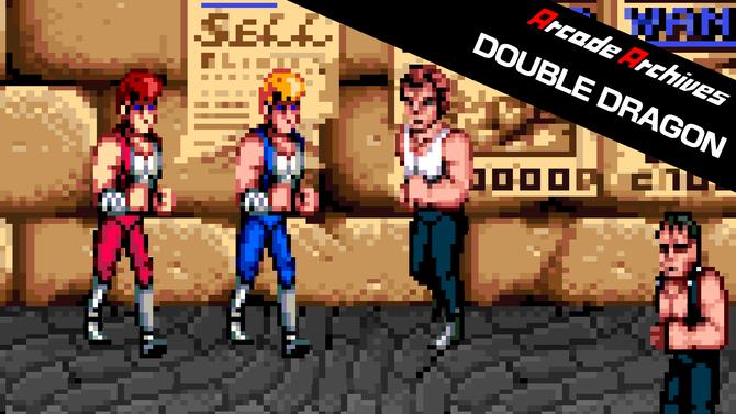 Double Dragon et six autres beat'em all arrivent sans crier gare sur Switch et Xbox One