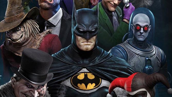 L'art director de God of War (PS4) réinvente les personnages de Batman et c'est canon