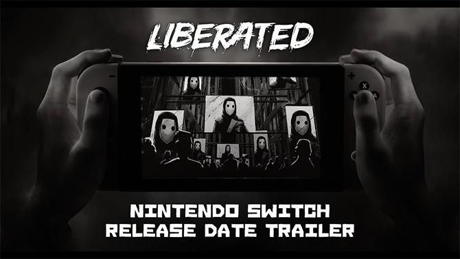 Liberated : Le comics noir à la sauce Orwell annonce sa date de sortie sur Switch en vidéo