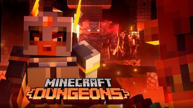 Minecraft Dungeons : Une bande-annonce héroïque pour le lancement