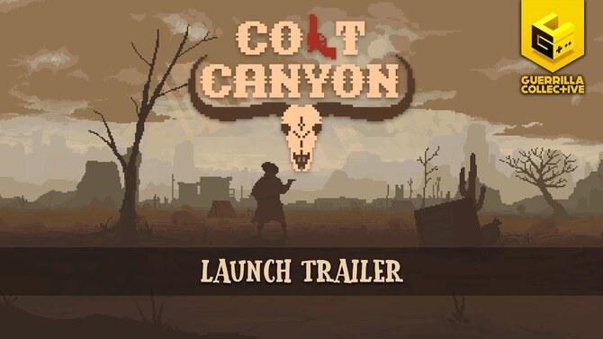 Colt Canyon : Le rogue-like à la sauce western dégaine sa date de sortie en vidéo