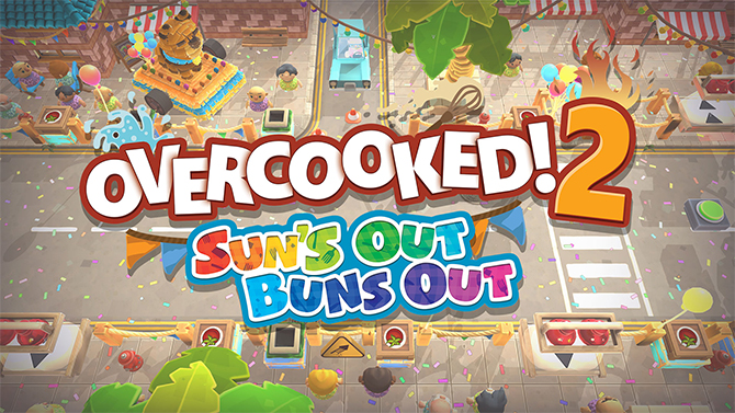 Overcooked 2 dévoile son nouveau DLC gratuit, glaces et feux d'artifice au menu