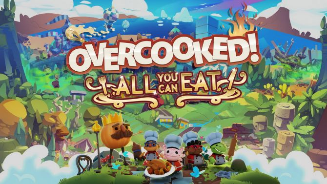 Overcooked All You Can It : Une compilation vous fera déguster sur PS5 et Xbox Series X